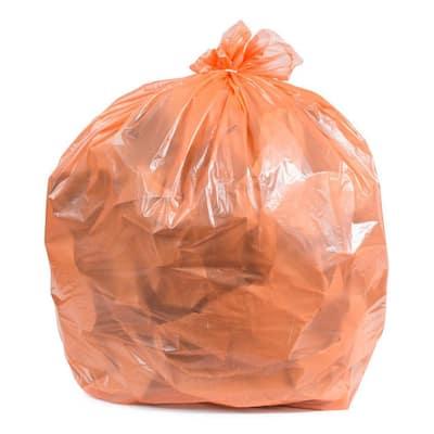 55-60 Gal. Orange Trash Bags (Case of 50)