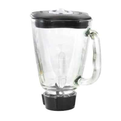 6-Piece 59 oz. Square Blender Glass Jar Replacement Kit