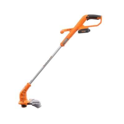 POWER SHARE 20-Volt 10 in. Lithium-Ion Electric Cordless Grass Trimmer/Edger