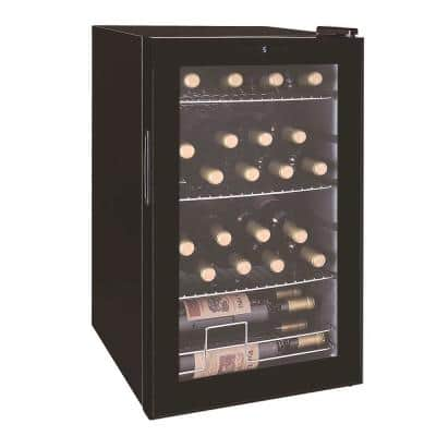 Single Zone 16.9 in. 24-Bottle 101-Can Cooler