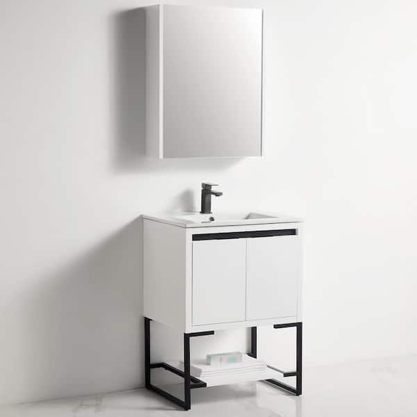 H Bathroom Vanity Set, Home Depot Canada Bathroom Mirror Cabinet