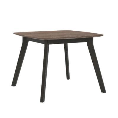 AX1 Medium Brown Square Meeting Table