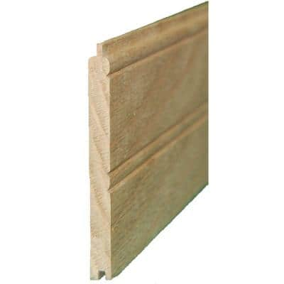 5/16 in. x 3-11/16 in. x 8 ft. Knotty Pine Beaded Planking (3-Pack per Box)