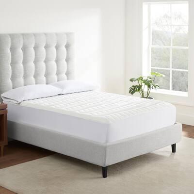 Air Dry Basic Comfort King Mattress Pad in White
