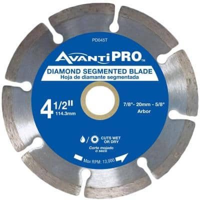 4.5 in. Segmented Diamond Blade