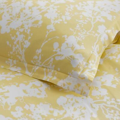 Legends Hotel Fleur Cotton & TENCEL Lyocell Multicolored Botanical Cotton Blend Sham