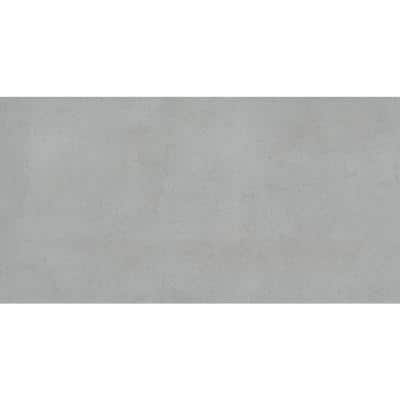 BB Concrete Silver 14.65 in. x 29.41 in. Matte Concrete Look Porcelain Floor and Wall Tile (11.964 sq. ft./Case)