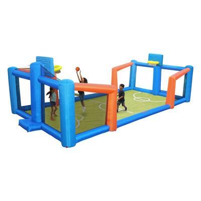 Fly Slama Jama Inflatable Basketball Court