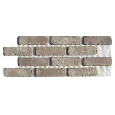 Brickwebb Rushmore Thin Brick Sheets - Flats (Box of 5 Sheets) - 28 in. x 10.5 in. (8.7 sq. ft.)