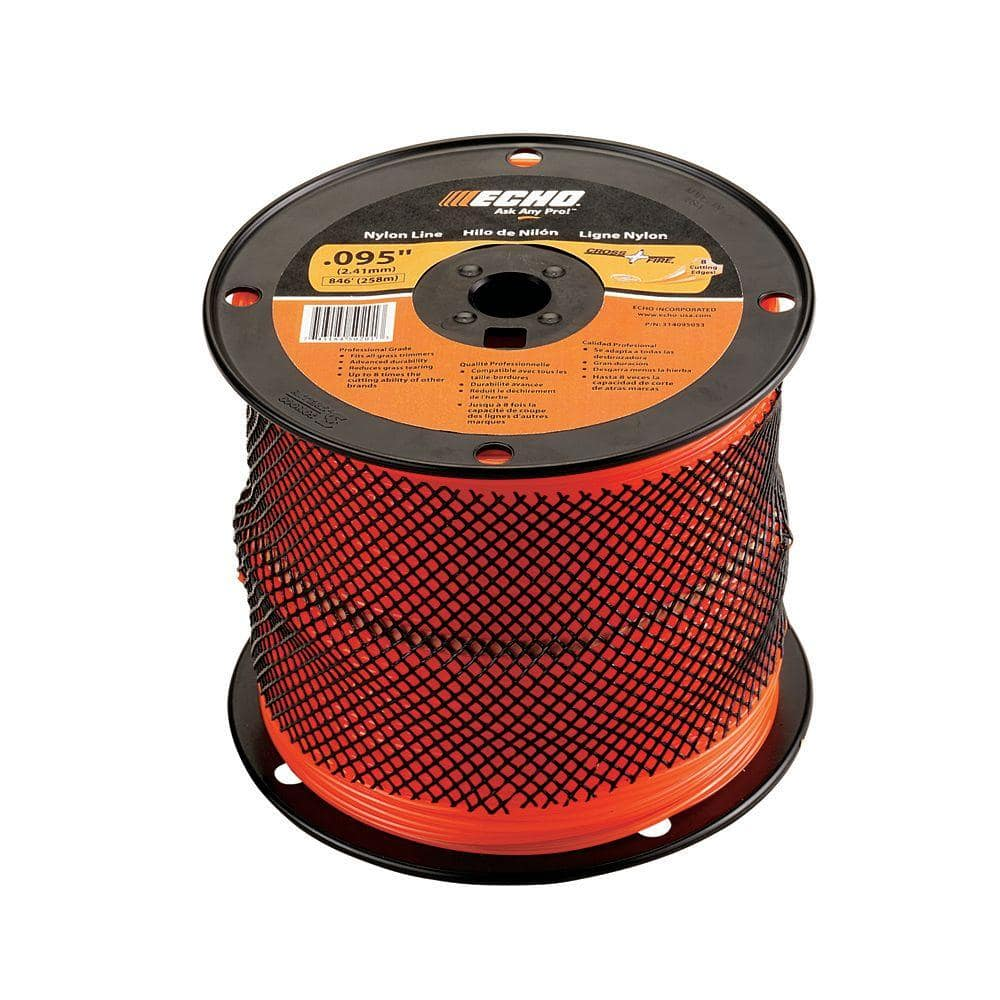 ECHO 0.095 in. x 1,410 ft. Large Spool Cross-Fire Trimmer Line