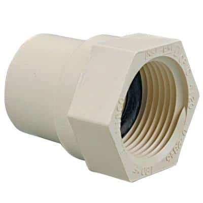 1 in. CPVC-CTS Slip x FIP Female Adapter Fitting