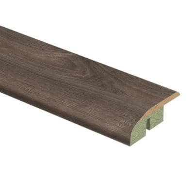 Southern Grey Oak 1/2 in. Thick x 1-3/4 in. Wide x 72 in. Length Laminate Multi-Purpose Reducer Molding