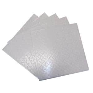 12 in. x 12 in. Adhesive Mosaic Mesh Backer Suppor and Leveler (50-Pack)
