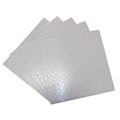 12 in. x 12 in. Adhesive Mosaic Mesh Backer Suppor and Leveler (5-PacK)