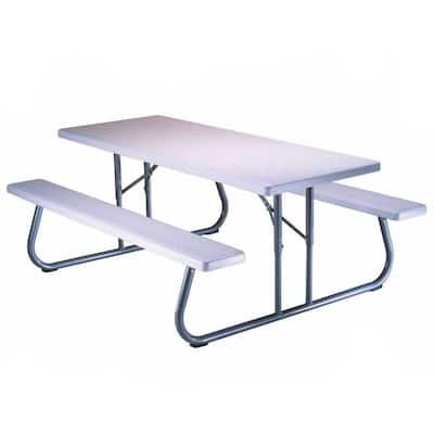 57 in. x 72 in. Folding Picnic Table