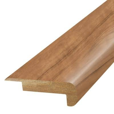 Amber 3/4 in. T x 2-1/8 in. W x 78-3/4 in. L Laminate Stair Nose Molding