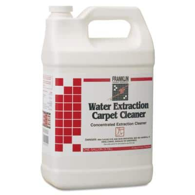 1 Gal. Bottle Liquid, Water Extraction Carpet Cleaner Floral Scent 4 per Carton