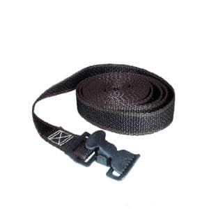 12 ft. x 1 in. x 30 lbs. Lashing Strap with Metal Buckle