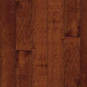 American Originals Salsa Cherry Maple 3/4 in. T x 5 in. W x Varying L Solid Hardwood Flooring (23.5 sq. ft. /case)
