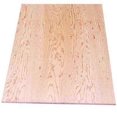 Sheathing Plywood (Common: 19/32 in. x 4 ft. x 8 ft.; Actual: 0.563 in. x 48 in. x 96 in.)