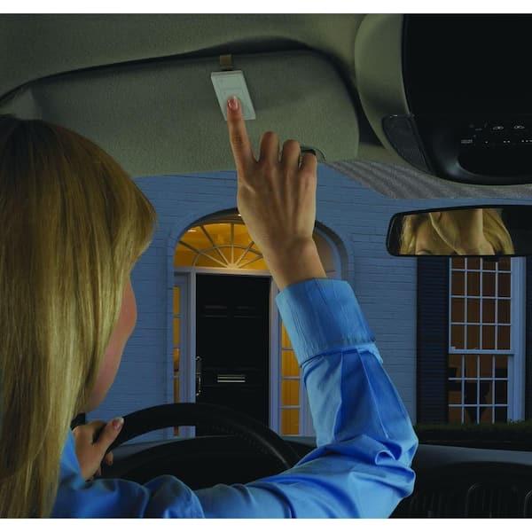 Lutron Caseta Wireless Car Visor Clip For Pico Remote Pico Car Clip The Home Depot