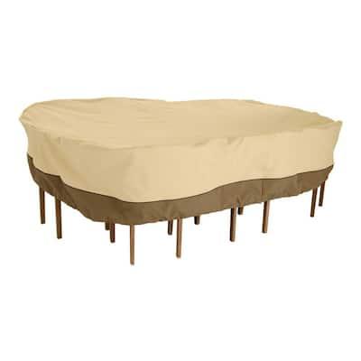 Veranda Large Rectangular Patio Table and Chair Set Cover