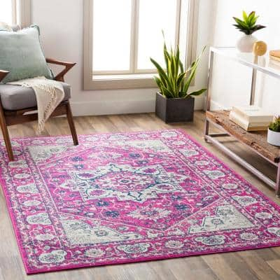 Artistic Weavers Pink Area Rugs Rugs The Home Depot
