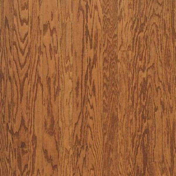 Bruce Gunstock Red Oak 3 4 In Thick X 3 4 In Wide X 78 In Length Quarter Round Molding T74131140 The Home Depot