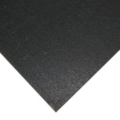 Elephant Bark Black 1/4 in. T x 48 in. W x 168 in. L Rubber Flooring (56 sq. ft.)