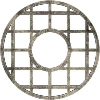 1 in. x 32 in. x 32 in. O'Neal Architectural Grade PVC Pierced Ceiling Medallion