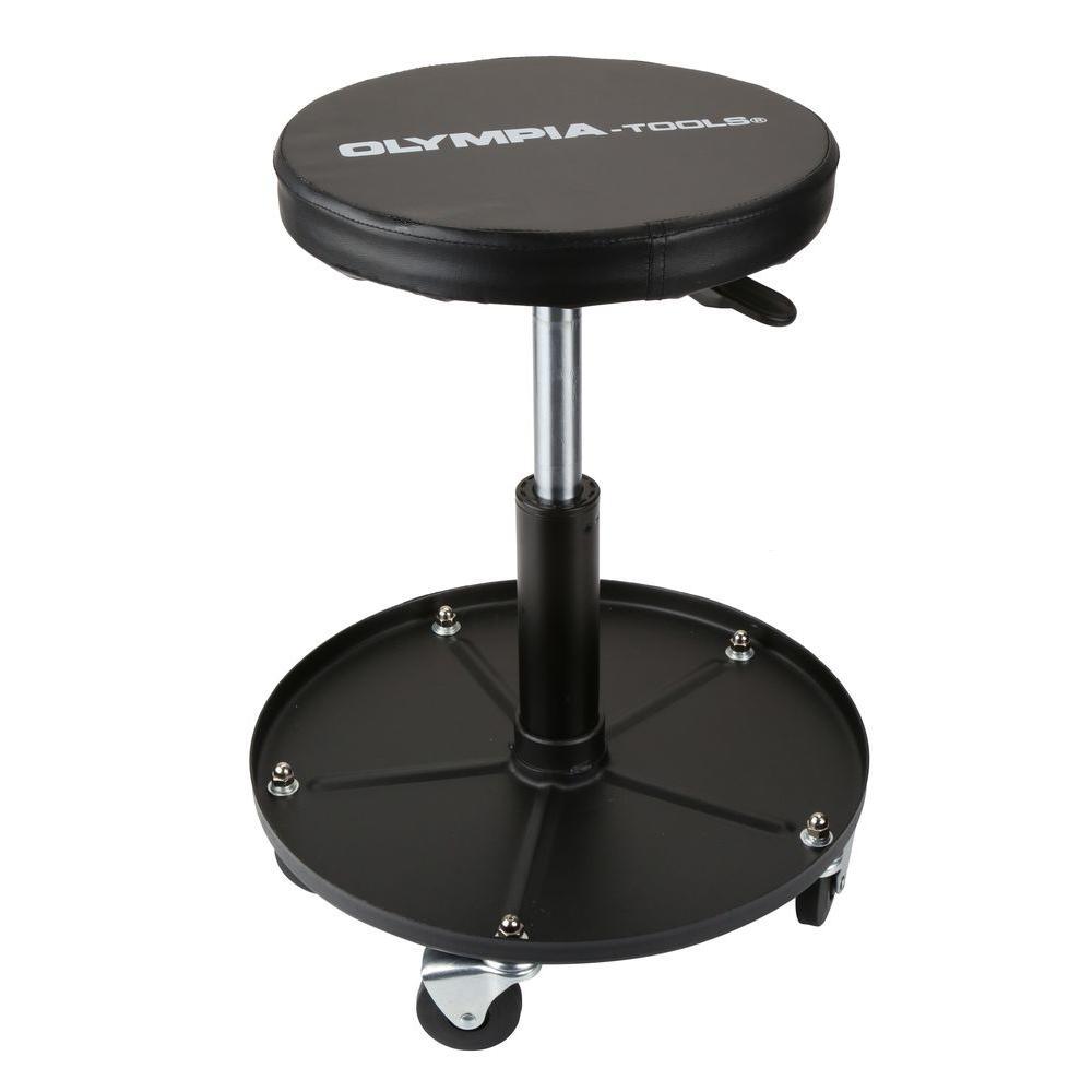 Heavy-Duty Adjustable Mechanic's Roller Seat