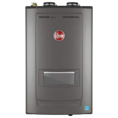 Prestige 9.9 GPM Natural Gas High Efficiency Combi Boiler with 199000 BTU