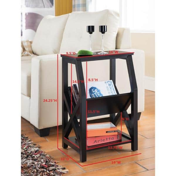 Wood Rack End Table, Furniture Brand Reviews