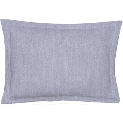 Echelon Blue Queen Pillow Cover (Set of 2)