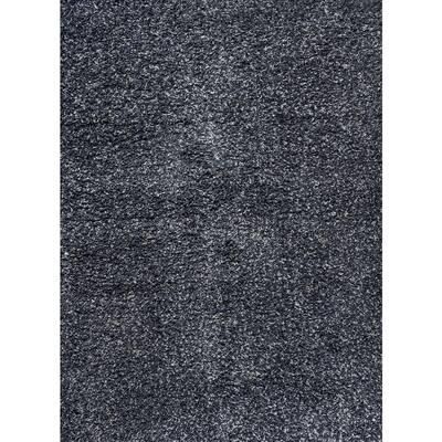 Mercer Shag Plush Denim Blue 8 ft. x 10 ft. Area Rug