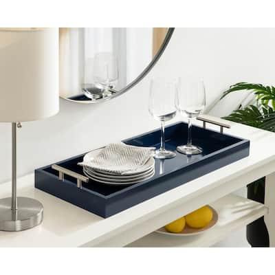 Lipton Navy Blue Decorative Tray