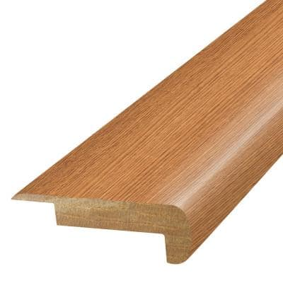 Butter Rum 3/4 in. T x 2-1/8 in. W x 78-3/4 in. L Laminate Stair Nose Molding