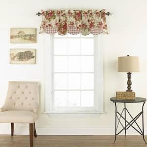 Norfolk Window Valance in Tea Stain - 60 in. W x 16 in. L