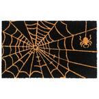 Natural 18 in. x30 in. Machine Tufted Spider web Doormat