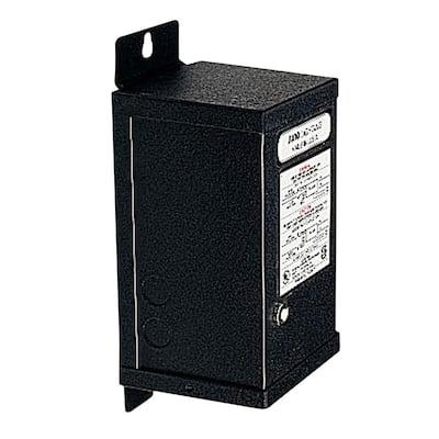 Trac12 60-Watt 12-Volt AC Black Magnetic Transformer