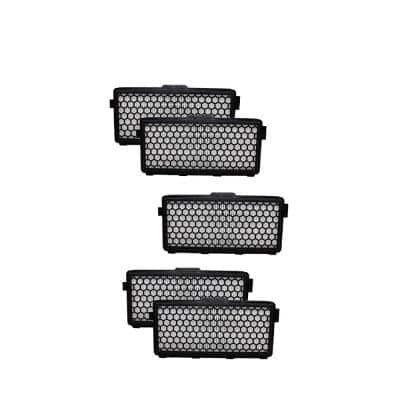 Replacement HEPA Filter for Miele SF-HA 50 Active Models S4000, S5000, S6000, & S8000 (5-Pack)
