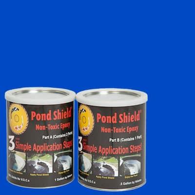 Pond Shield 1.5-gal. Competition Blue Non Toxic Epoxy