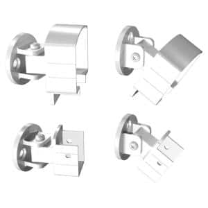 White Aluminum Universal Connector