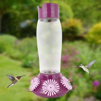 Hummer's Favorite Top-Fill Glass Hummingbird Feeder - 36 oz. Capacity