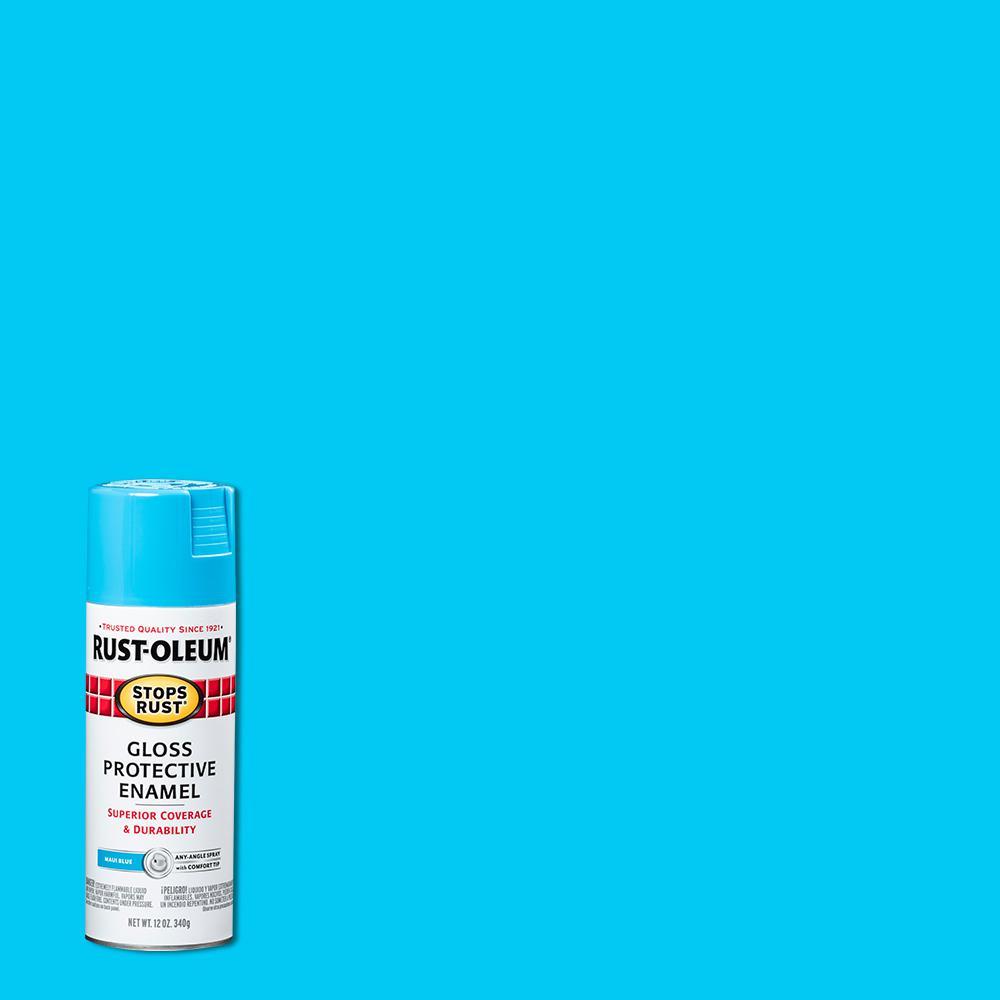 12 oz. Protective Enamel Gloss Maui Spray Paint