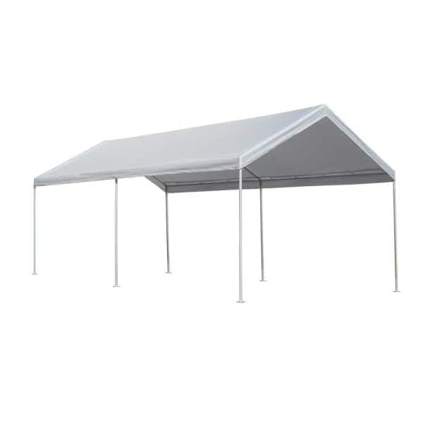 Caravan Canopy 10 Ft X 20 Ft Domain Pro 200 Carport D2c20011 The Home Depot