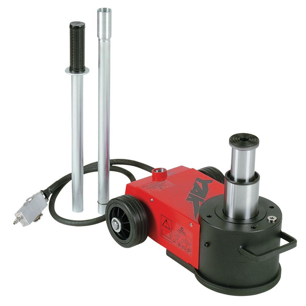 44-Ton/22-Ton Premium 2-Stage Air Hydraulic Portable Jack