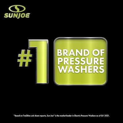 2030 Max PSI 1.76 GPM 14.5 Amp Electric Pressure Washer, Black