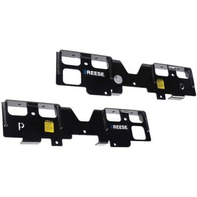 Outboard Fifth Wheel Trailer Hitch Brackets Only for 2019-2020 Chevy/GMC 1500 Trucks
