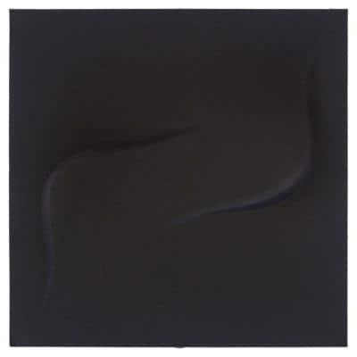 FeltForms 24 in. W x 24 in. L x 2 in. H Black Acoustic Insulation Twist Panels (4-Pack)